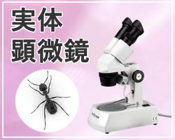 実体顕微鏡を低価格で販売